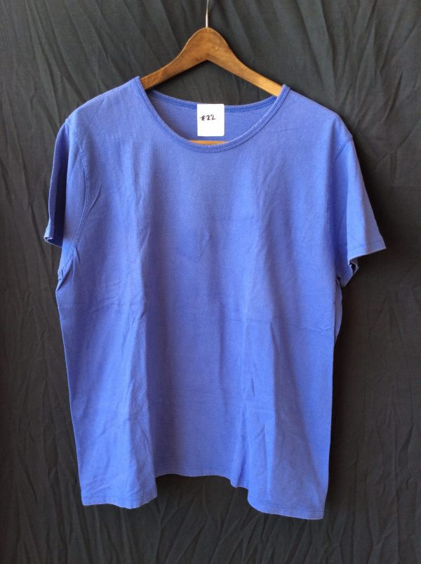 Women's blue t-shirt, size large