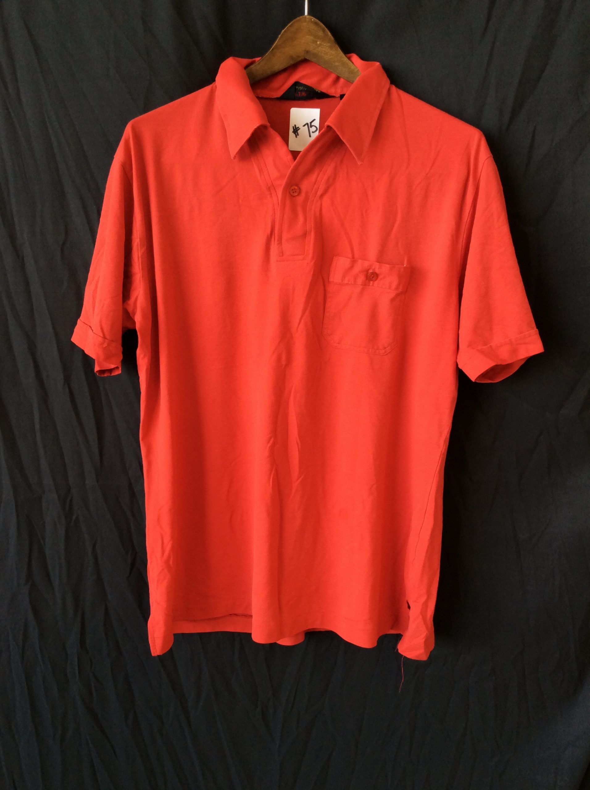 Women's red polo, size xl